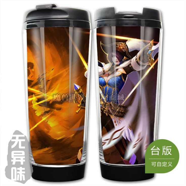 League of Legends LOL Royal Guard Fiora Plastic Coffee Cup