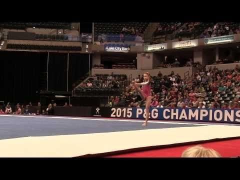Ragan Smith – Floor Exercise – 2015 P&G Championships – Jr. Women Day 1