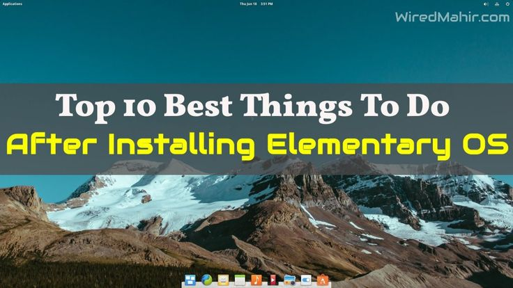 Today I will be sharing some best things to do after installing Elementary OS. Though what should be done, it depends on how a user will use the system.