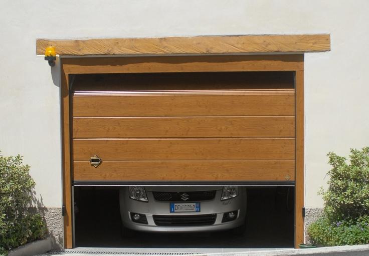 Portone sezionale CUPIS by Breda e SUZUKI - CUPIS Garage Door by Breda & SUZUKI #BredaLoveCars #portoni #sezionali #garage #doors #breda #Suzuki