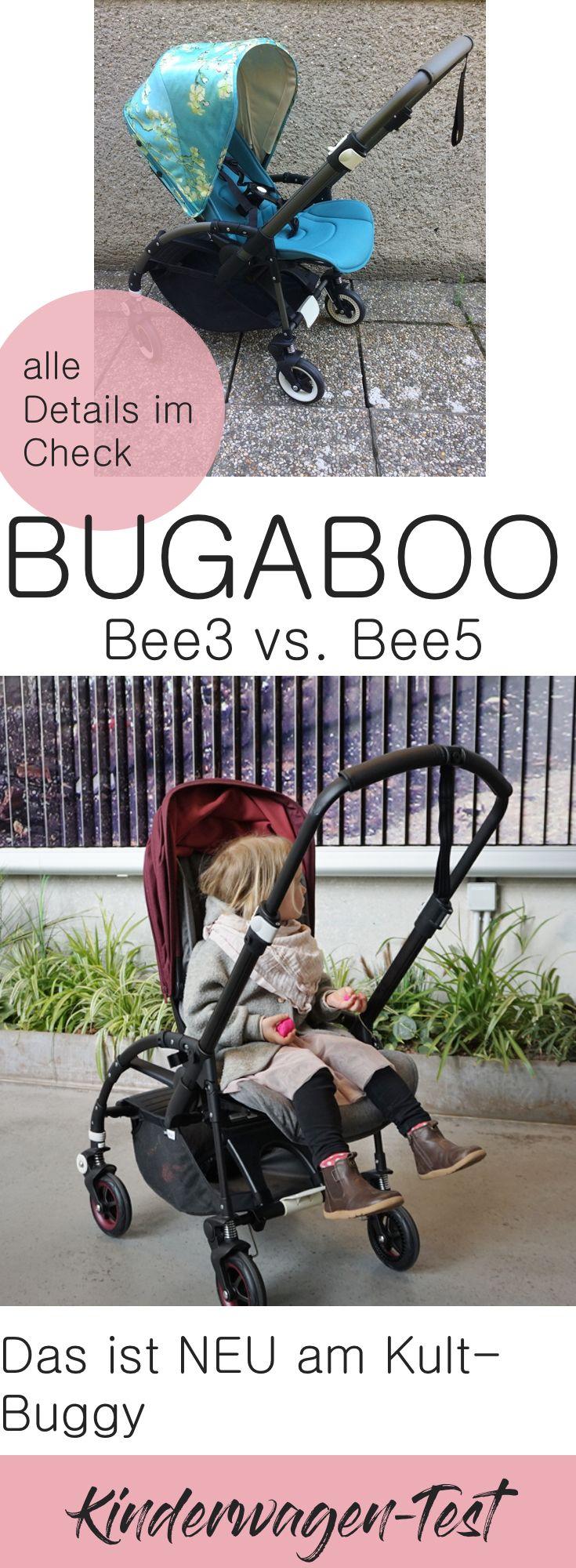 Der holländische Klein-Kinderwagen ist perfekt für alle, die viel in der Stadt vorhaben: Wendig und leicht.  Was ist neu am Bee5 und wo sind die Unterschiede zum Bee3? Wir haben den Test gemacht! Bugaboo Bee im Vergleich.