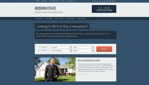 15 Free WordPress Real Estate Themes #charleston #real #estate http://real-estate.remmont.com/15-free-wordpress-real-estate-themes-charleston-real-estate/  #real estate website templates # 15 Free WordPress Real Estate Themes Are you want to promote your