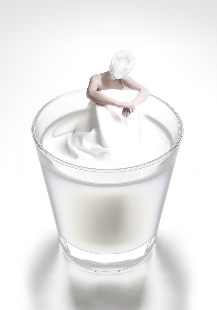 Conceptual Photography by Stefano Bonazzi - coma white