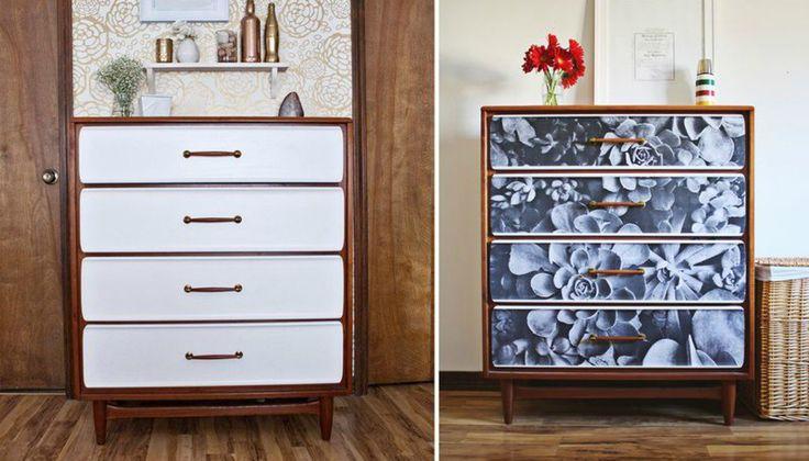 DIY: Μεταμορφώστε τη Συρταριέρα της Γιαγιάς σε Design Έπιπλο