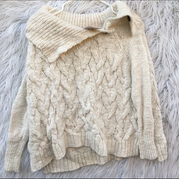 FREE PEOPLE SZ XS KNIT WOVEN SWEATER NEW New Free People Sweaters