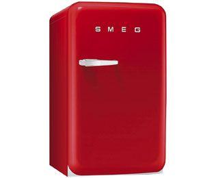 Smeg FAB10RR Freestanding Fridge - Red