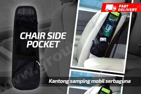 Chair Side Car Pocket, kantong kursi mobil samping serbaguna hanya Rp 24.900 http://www.groupbeli.com/view.php?id=875