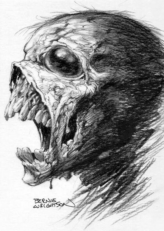 Bernie Wrightson - Legendary artist Bernie Wrightson has suffered a series of small strokes, but is doing well. If you'd like to sign Bernie Wrightson's Get Well card just click this link http://www.groupcard.com/c/hBfBI-bMgEk