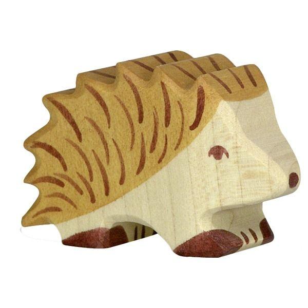 Holztiger Wooden Animal Figure Hedgehog Canada