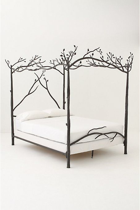 forest canopy bed.  Okay so I already have a  bed that sort of looks like this, but I love it.