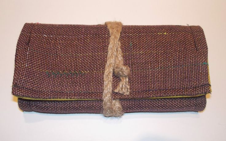 Unique Handmade Tobacco Pouch by TheOldSchoolProject on Etsy