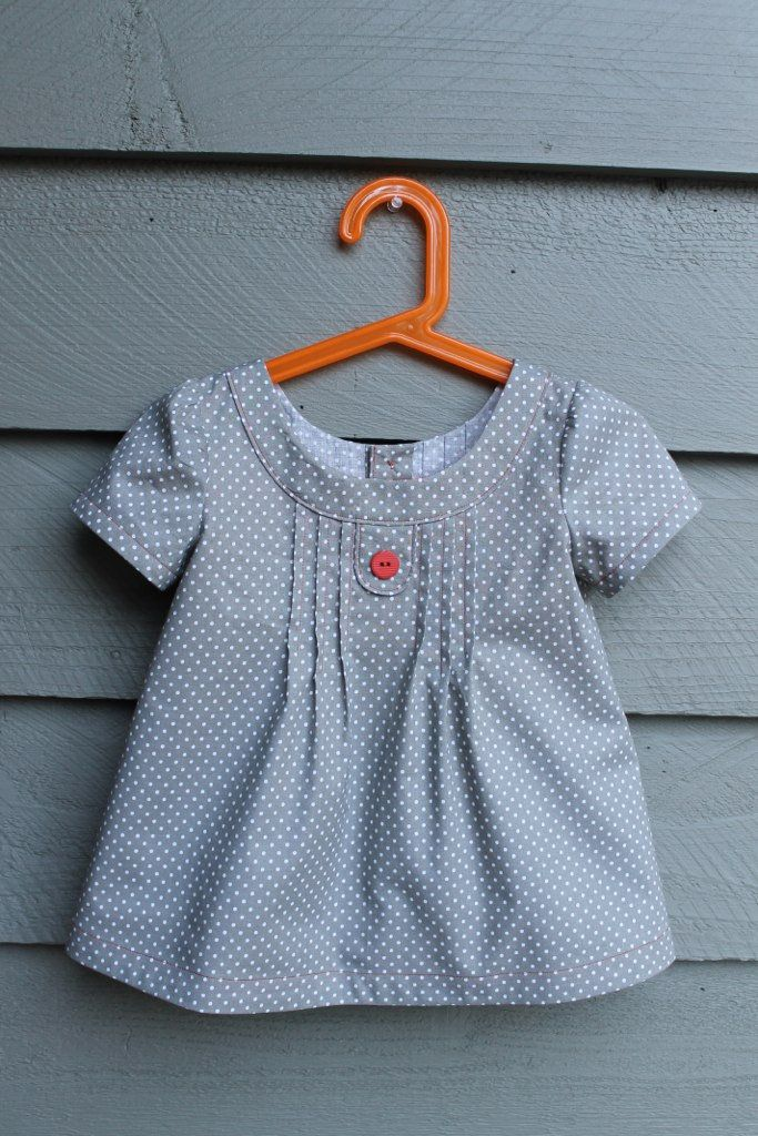 Oliver and S Family Reunion blouse, size 3, 4 length in cotton remnant