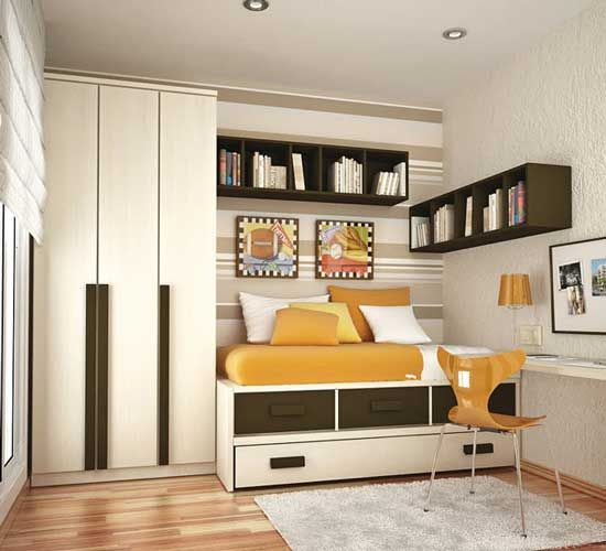 When furnishing and planning Teen room Interior Design , all decisions  should be discussed with the