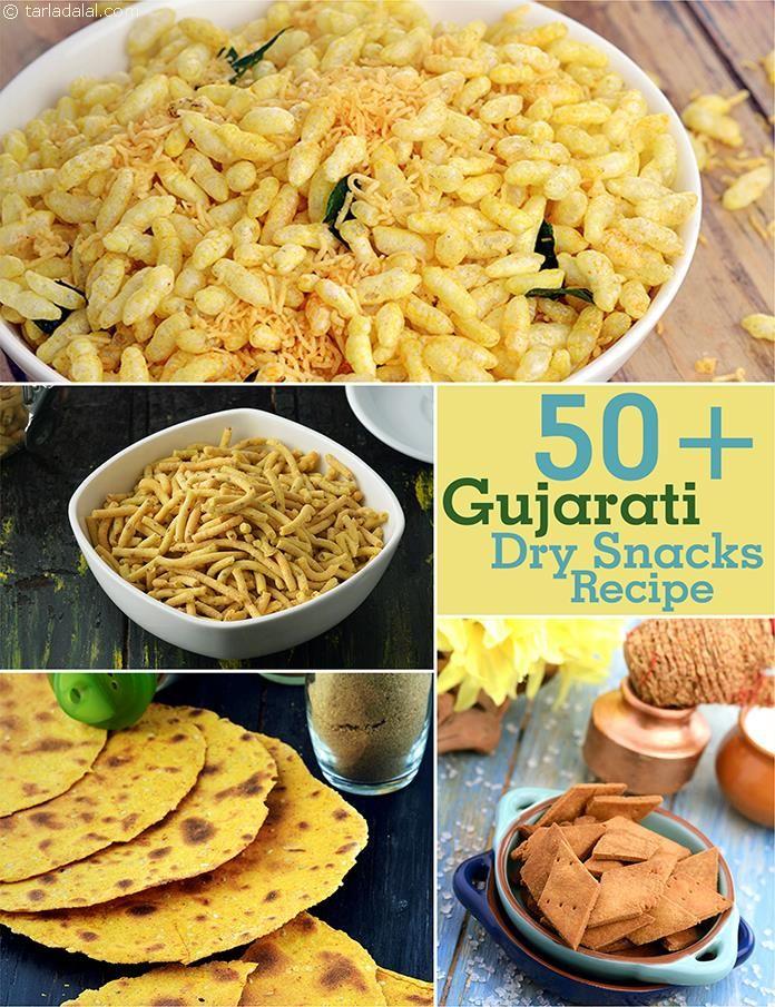 Gujarati Dry Snack Recipes : Gujurati : Tarladalal.com | Page 1 of 4