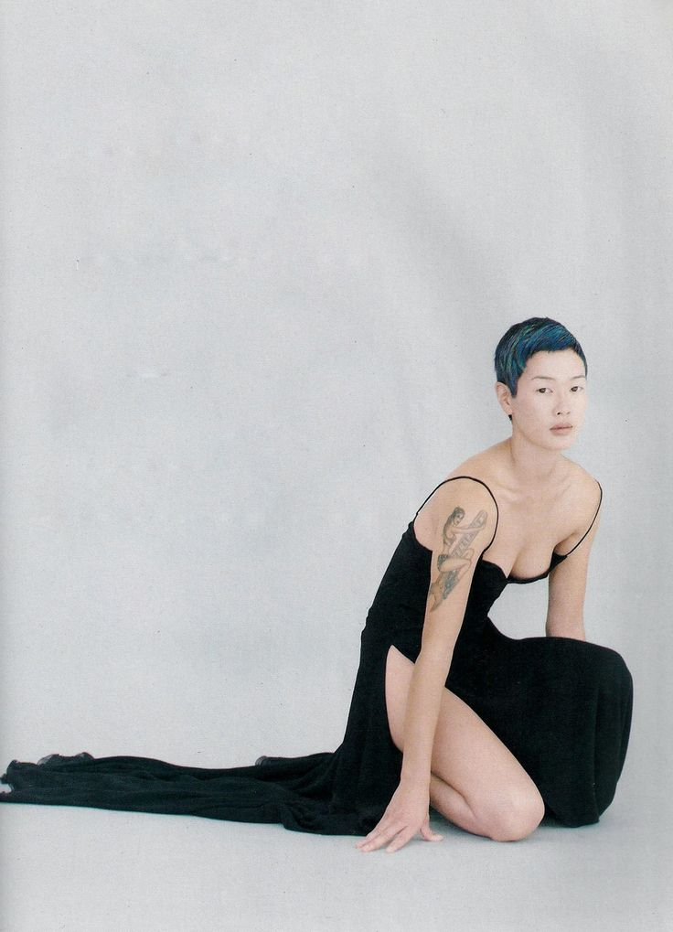 """Tokyo Girl"", Glamour France, November 1993 Photographer: Marc Hispard Model: Jenny Shimizu"