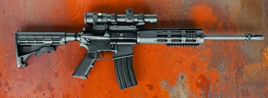 DPMS 300 AAC Blackout RifleLoading that magazine is a pain! Get your Magazine speedloader today! http://www.amazon.com/shops/raeind