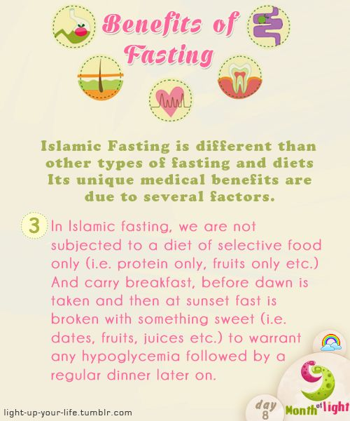 Month Of Light  Health Benefits Of Islamic Fasting  Benefit (3)  written by: Dr. Shahid Athar