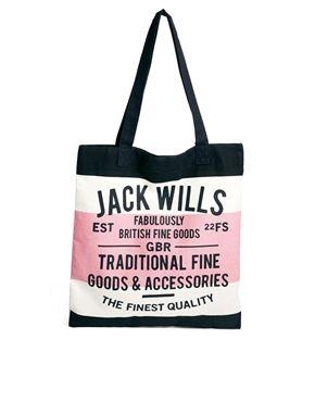 Image 1 ofJack Wills Bookbag