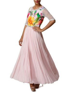 Light pink indian suit