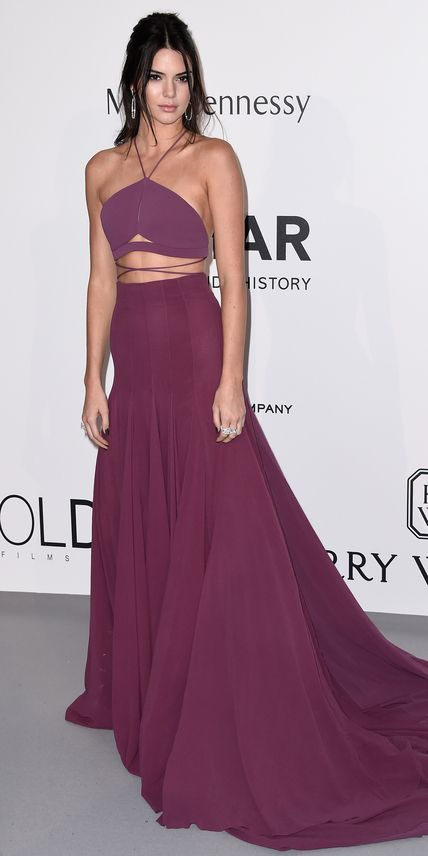 Kendall Jenner in Calvin Klein collection Cannes Film Festival 2015 Best Red Carpet   InStyle.com
