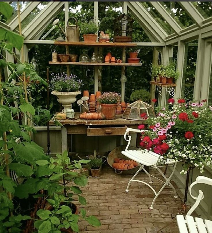 Pin by Ruby D on THE POTTING SHED IN COLORS in 2020