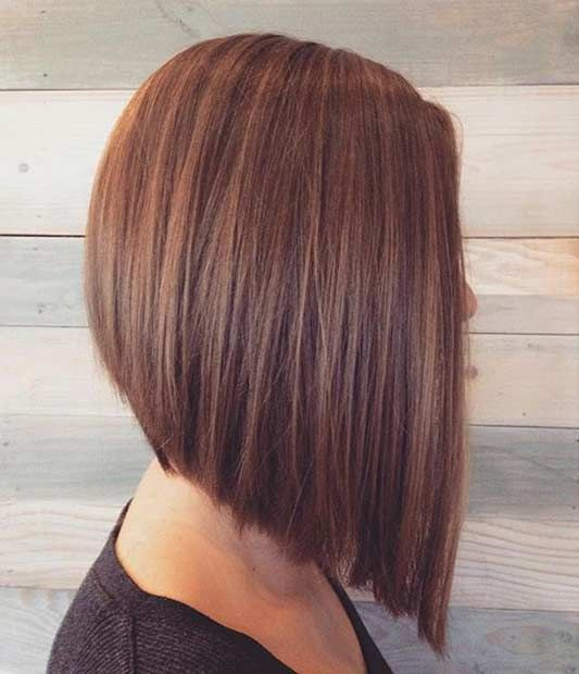 31.Straight, Clean Cut Bob We couldn't not include a classic. Sometimes simple is better. And you can see why. Uniform colours look best for this look. It's such an elegant style. Errors in this cut would be really difficult to hide, so you'll want to make sure you get someone you trust to cut your …