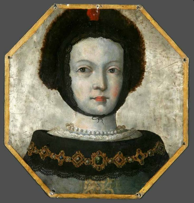 Coffin portrait of an unknown woman from the vicinity Dolsk by Anonymous from Poland, ca. 1670 (PD-art/old), Muzeum Narodowe w Warszawie (MNW)