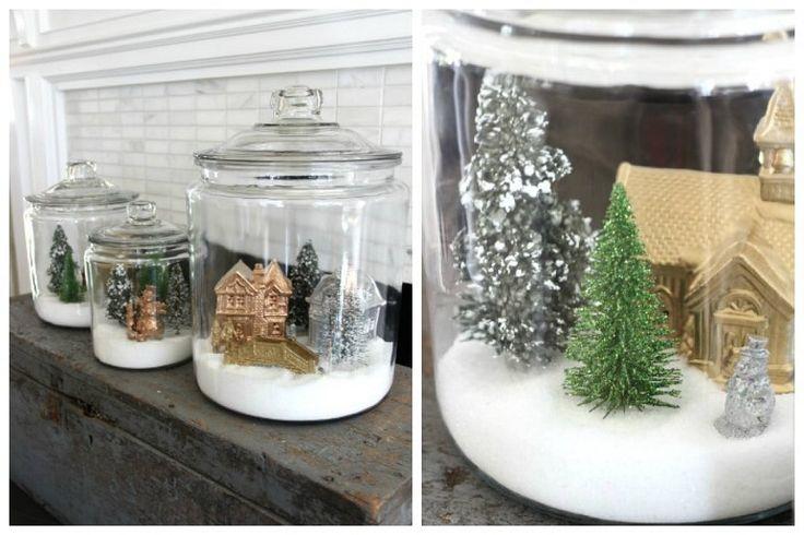 5 Globos de nieve caseros | Aprender manualidades es facilisimo.com