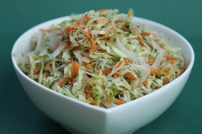 Sharp little cabbage fast preparation.