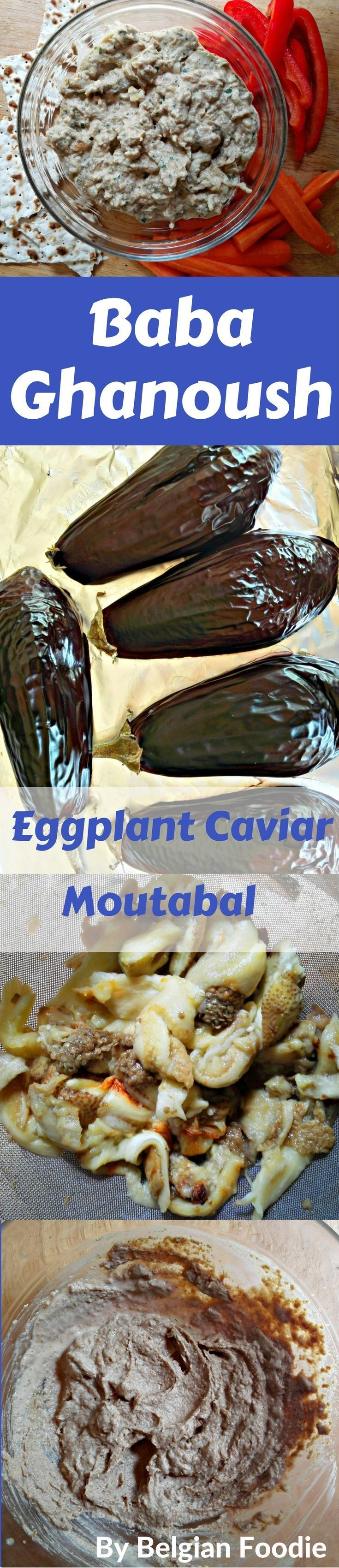 An easy VEGAN appetizer made with Eggplants and Tahini. So tasty!