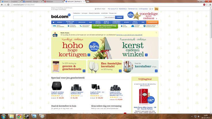Arjen-Bol.com Sterk: Overzichtelijk, vrolijk. Zwak: