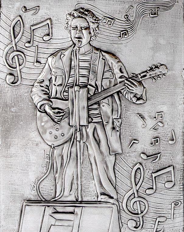 ArteyMetal: Retrato de Manolo Rodríguez