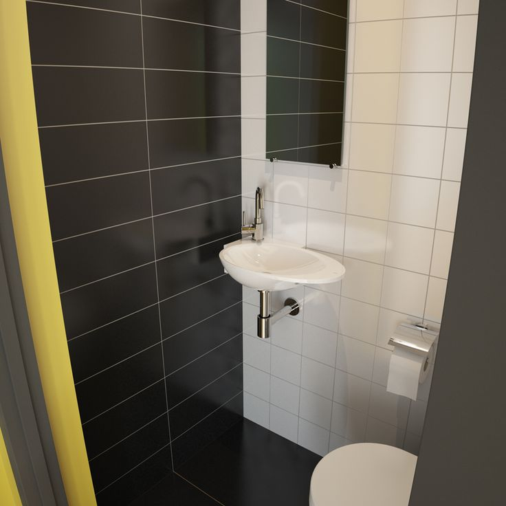 17 best images about toilet on pinterest toilets color interior and utrecht - Zwart wit toilet ...