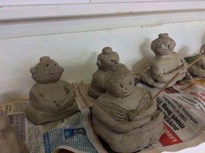 Gr 5/6: Boeddha van klei. Zuid-Korea/De Rijp