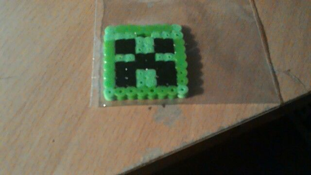 Minecraft creeper Hama beads
