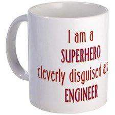 Superhero Engineer Mug for