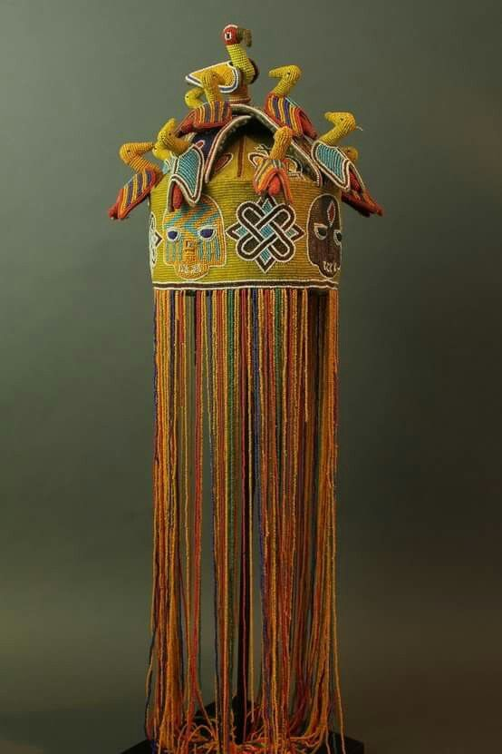 28 best African Royal Tiara & Crown images on Pinterest ... Traditional African Fashion Headdress