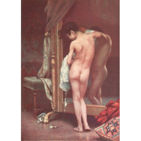 A Portfolio of Canadian Art 1926 The Venetian Painter Canvas Art - Paul Peel (18 x 24)
