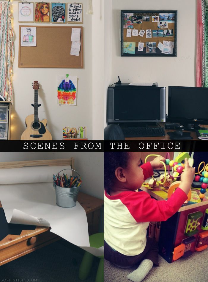 Scenes From The Office / Making It Ours On A Budget Sophistishe.comThe Office