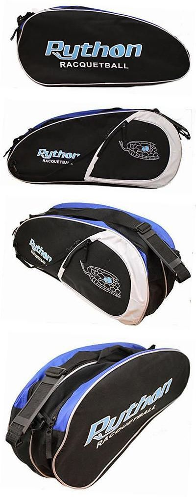 Squash 62166: Python Deluxe 3 Racquet Racquetball Bag (Great Value) -> BUY IT NOW ONLY: $41.69 on eBay!