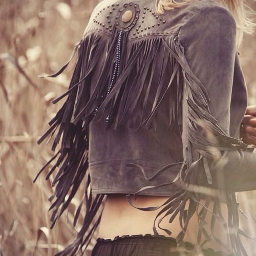 fringe jacket to celebrate summer #wewantsale #fringe #fashion