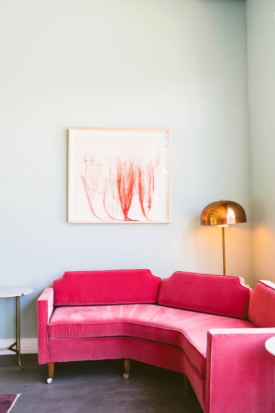 Best 25+ Pink sofa ideas on Pinterest