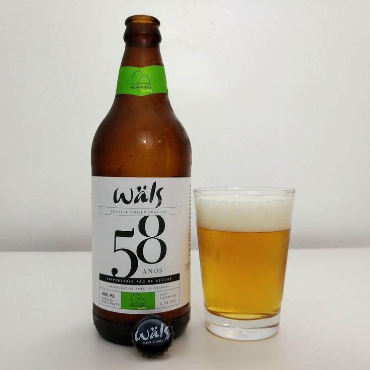 Wäls 58 é uma cerveja feita especialmente para a comemoração de 58 anos do Grupo Pão deAçúcar em parceria com a sommelier de cervejas e instrutora do Instituto da Cerveja Brasil Kathia Zanatta. O Grupo Pão de Açúcar foi uma das primeiras redes de supermercado a trazer cervejas especiais para o Brasil por um preço acessível. A Wäls 58 é uma Pilsen com Dry Hopping do lúpulo alemão Hallertau Blanc.  No visual tem coloração dourada com espuma de média formação e persistência. O aroma não me…