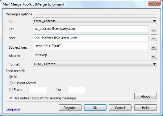 mail merge with pdf attachment outlook 2010