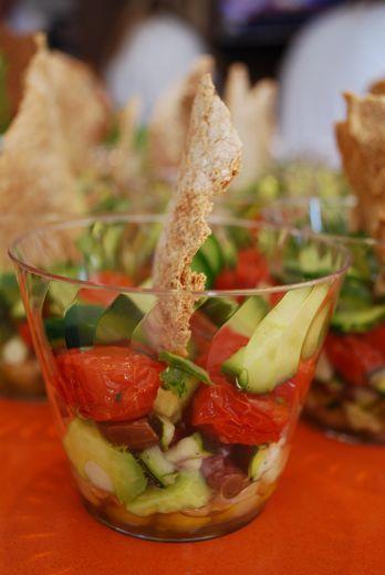 17 best images about salad mini cups on pinterest greek salad almonds and paper. Black Bedroom Furniture Sets. Home Design Ideas