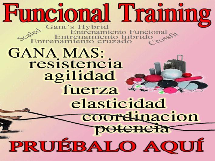 Funcional training o entrenamiento funcional, descubre como superar tus limites..