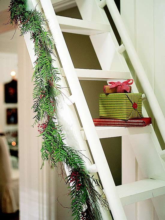 43 best loft ladder ideas images on pinterest - Ladders for decorating stairs ...