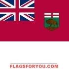 3' x 5' Manitoba High Wind, US Made Flag