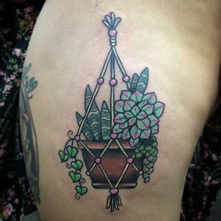 A love you know is never, ever going to waver. | 21 Beautiful Plant Tattoos For Anyone Who Doesn't Like Flowers
