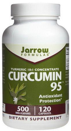 Jarrow Formulas Curcumin 95 - 500 mg Caps, 120 ct